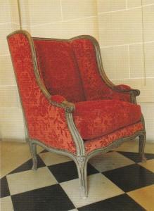 写真4.5ルイ15世様式安楽椅子のコピー