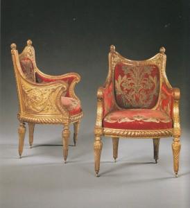 写真4.7ルイ16世様式肘掛け椅子のコピー