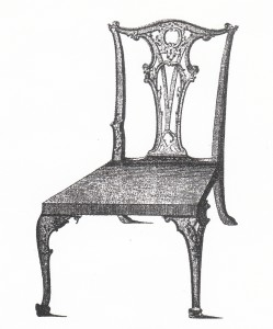 5.2Chippendale side chair