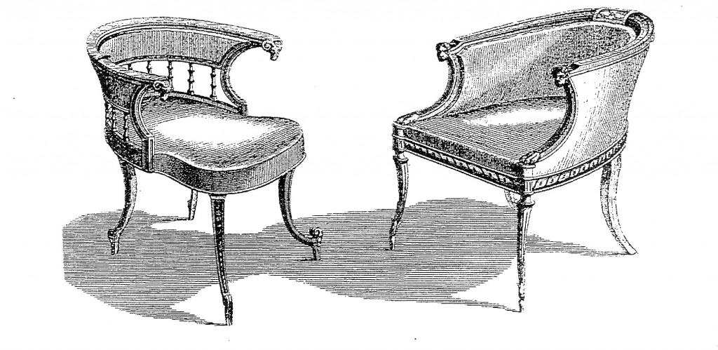 5.4Sheraton tubback chairs
