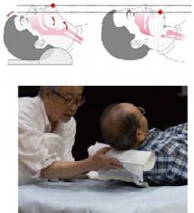 枕の使い方